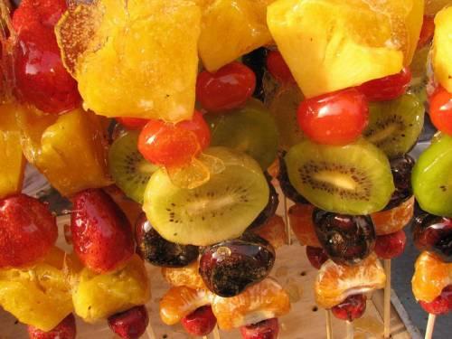 Как сделать карамель для фруктов