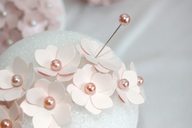 Своими руками на шарах цветы